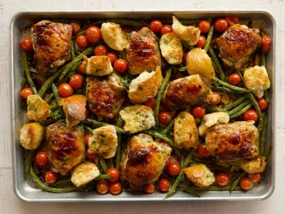 Delicious + Easy Sheet Pan Meals