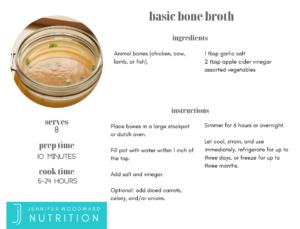 basic bone broth